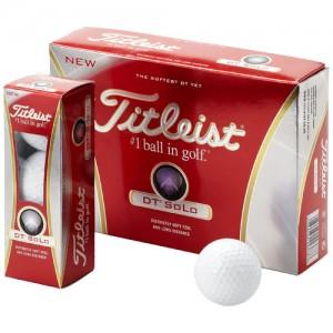 Balle de golf Titleist DT Solo Ref. LCA02137