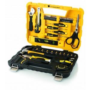 Set professionnel d'outils 47 pcs DUNLOP Réf. LCA02287