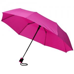 """Parapluie 3 sections ouverture fermeture automatiques 21"""" Ref. LCA021870"""