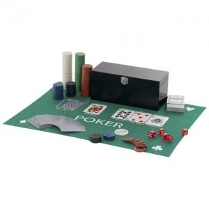 Jeu de poker avec tapis Ref. LCA021878