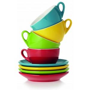 Set cappuccino 4 tasses Réf. LCA021295