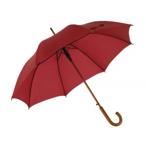 """Parapluie automatique """"Boogie"""" en bois avec toile nylon Ref. LCA05134"""