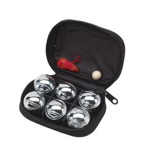 """Jeu de mini-boules """"David"""" dans une pochette noire Ref. LCA051172"""