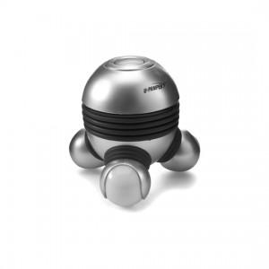 Masseur électrique en plastique avec 3 points massants lumineux, piles incluses. - couleur : silver