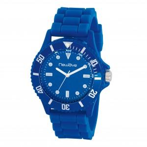 Montre analogique, bracelet silicone, mouvement japonais couronne tournante Ref. LCA01700
