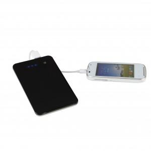 Batterie de secours lithium-polymère ultra fine, touche sensitive marche