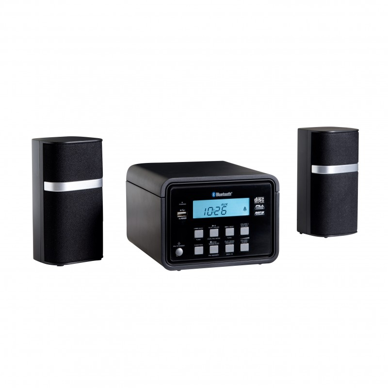 cha ne hi fi compacte bluetooth lecteur cd mp3 radio. Black Bedroom Furniture Sets. Home Design Ideas