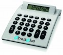 Grande calculatrice de bureau dual power