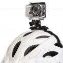 Caméra de sport Wifi HD miniature, étanche avec son boitier de protection, mini écran LCD, microphone, fonctionne sous Android ou IOS, objectif: f/2.9mm, Vidéo : capteur dimage CMOS 5MP, champ de vision 120°, optique résolution HD :1080P (1920 x 1080) 30